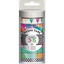 Create 365 The Happy Planner Washi Tape, Watercolor